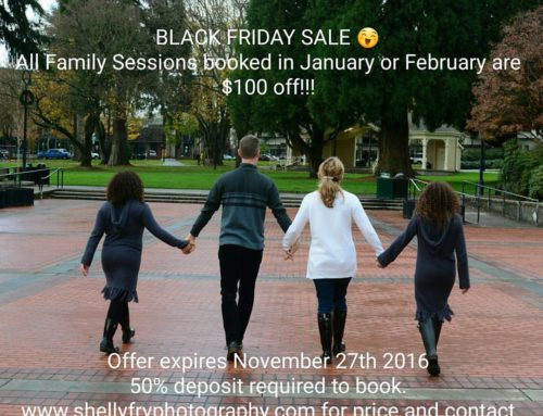 Black Friday – Sale at SFP {Family Photographer Portland OR & Vancouver WA}